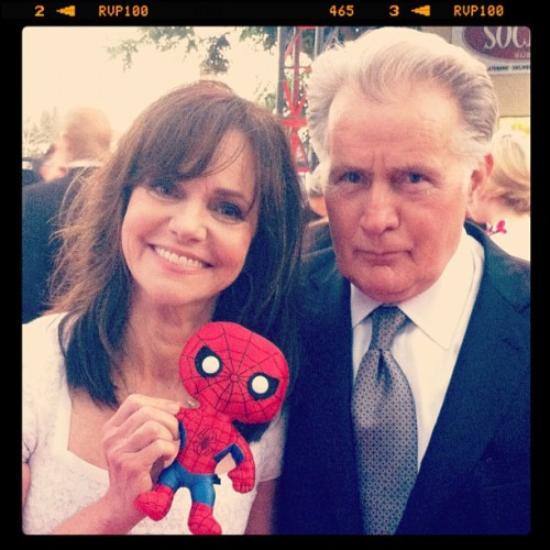 Spidey Doll taking over the LA Premiere! #igersitalia_swspidermantour #amazingspiderman (via Photo by screenweek_pic • Instagram)