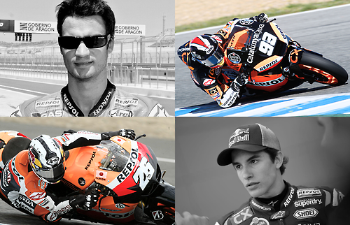 mumumuah:  Dani Pedrosa make a hattrick for Sachsenring! Congratulation Duo Spanish. You rock guysssss\m/  uwaa~ Marquez menang juga?? Congratulation!!!! \(^O^)/