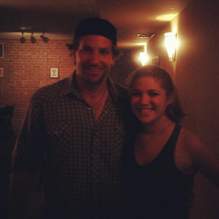 Met Bradley Cooper last night !