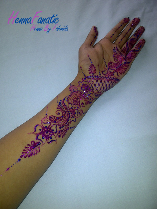 Glitter Mehndi By HennaFanatic