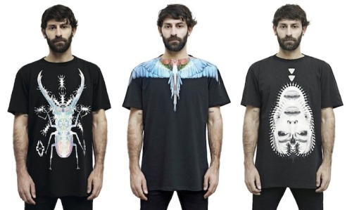 #TNNapproved: Marcelo Burlon County of Milan T-shirts.  Check out the entire post @ The No Names.