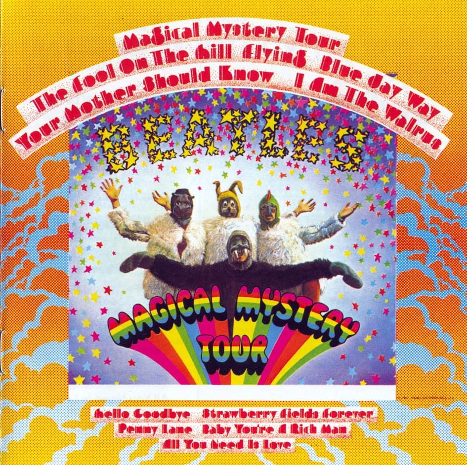 "Currently Spinning:  The Beatles Magical Mystery Tour Keeping my mind off the heat today.  Curtains drawn.  Lights off.  Sitting as still as possible.  This leaves only the mind to entertain.  And when those lazy strings kick in and John croons, ""I am he as you are he as you are me and we are all together,"" you have plenty for your mind to chew on as the sun finds every pour in your house to attack. Stay cool today.  Cuddle up with a good record."