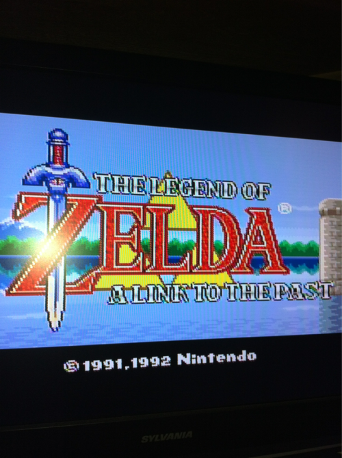 Link to the past… Never played it, time to begin