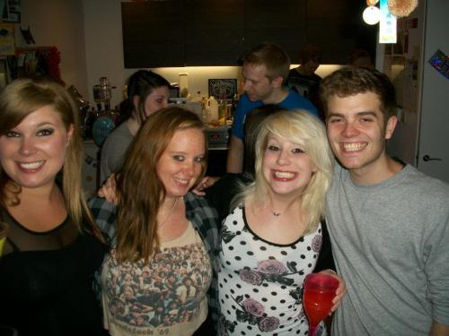 Love this photo…it's like rewinding 3 years to when we were all at uni