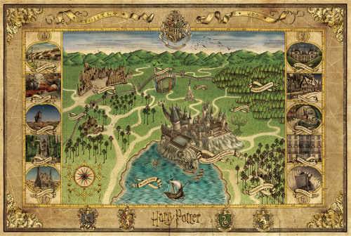 carollinando:  Map of Hogwarts