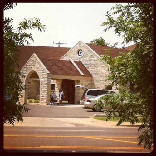 First morning at a Lutheran Church. And for inquiring minds, it was LCMS! (Taken with Instagram)