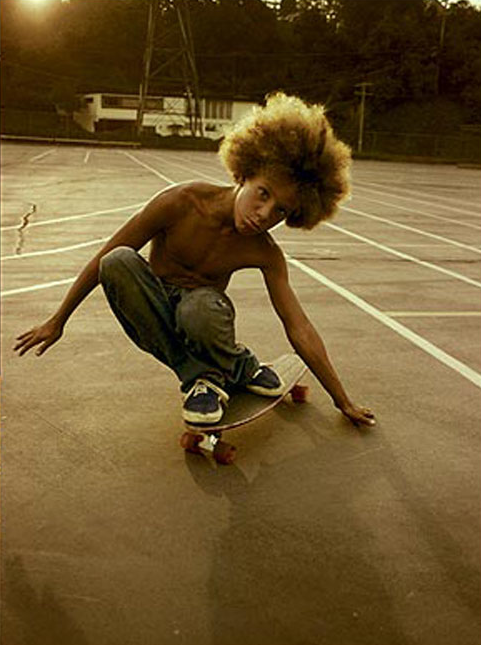 Hugh Holland     Southern California Skateboarder     c.1975