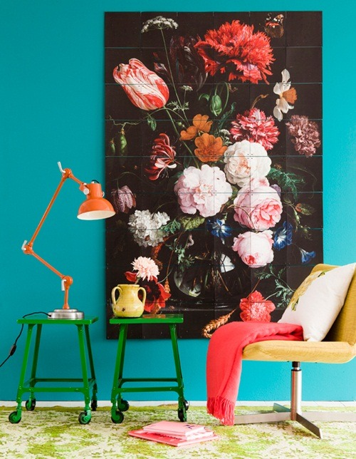 Colorful & bright. Perfect for a home