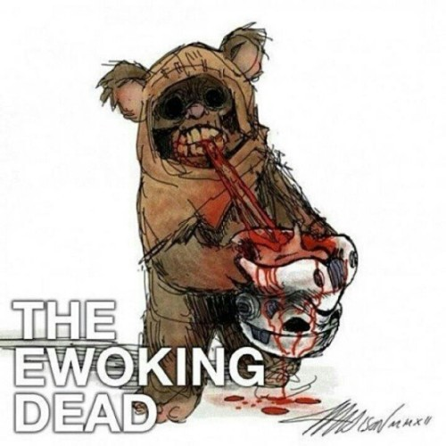 The Ewoking Dead, por Austin Madison.