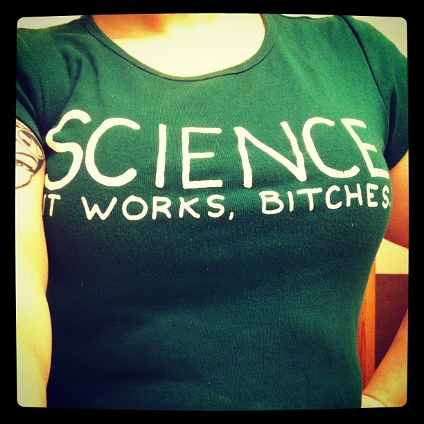 Wearing my favorite xkcd tee shirt (Taken with Instagram)