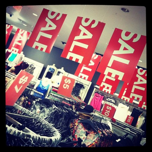 Hi, H&M!  (Taken with Instagram)