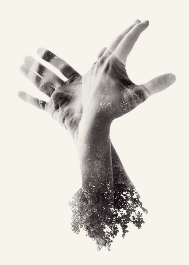 unknowneditors:  We Are Nature: New Multiple Exposure Portraits by Christoffer Relander