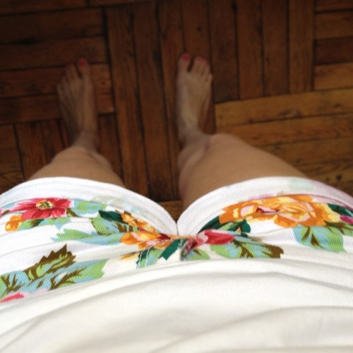 @katherinebackman check it, finally found nice floral shorts! #nevertakingthemoff (Taken with Instagram)