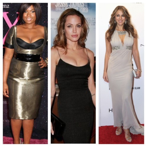 Angelina Jolie Body Shape