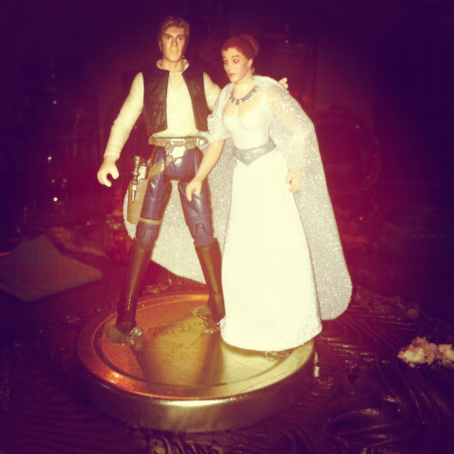 Star Wars Wedding Cake Topper  Portland, OR 7/7/12