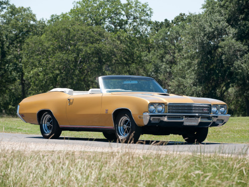 1971 Buick GS 455 Convertible.