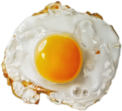 symmetrical:  (via in-fi-nity)  breakfast  eggggggggggggggs mah fave!