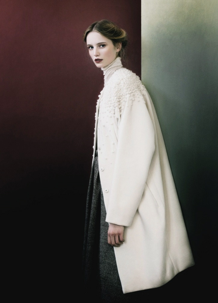 moldavia:  Maud Welzen in Rodeo F/W 2011 by Julia Hetta