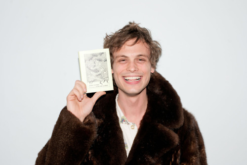 Matthew Gray Gubler would be fine too, Universe…