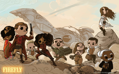 "bouletcorp:  ""Firefly Wallpaper"" (Blog)"