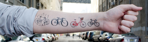 biciklo:  TATTLY Tattoos