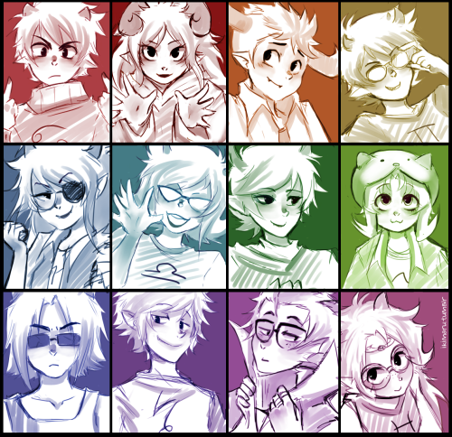 crispychocolate:  imonlyhereforhomestuck:  THEY ALL LOOK THEIR AGE BLESS YOUR SOUL  AHHH CUTIE PIES