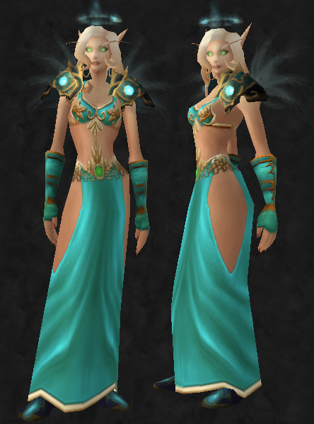 wowfashionpolice:  Tierathalon: Entry 2  Tier 7: Head/ShouldersItem Link: here.   My entry for wowfashionpolice's Tierathalon! Vote for number 2 here! :D