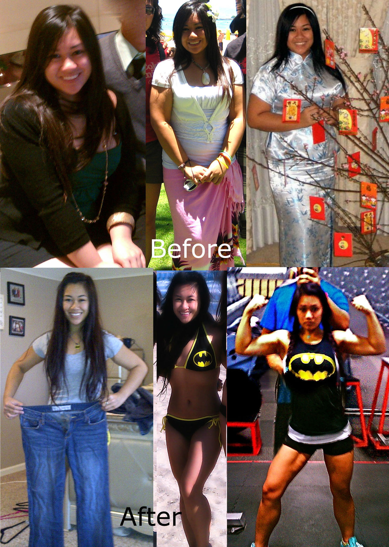 tumblrgym:  lights-glamour-sparkle:  Summer 2011-Summer 2012 For anyone trying to lose weight or get in shape…DON'T GIVE UP! You can do it :)  This is just awesome