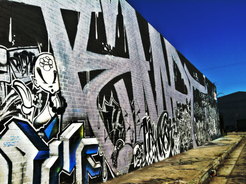A mural homage made to Tony Quan, aka TemptOne. Los Angeles.