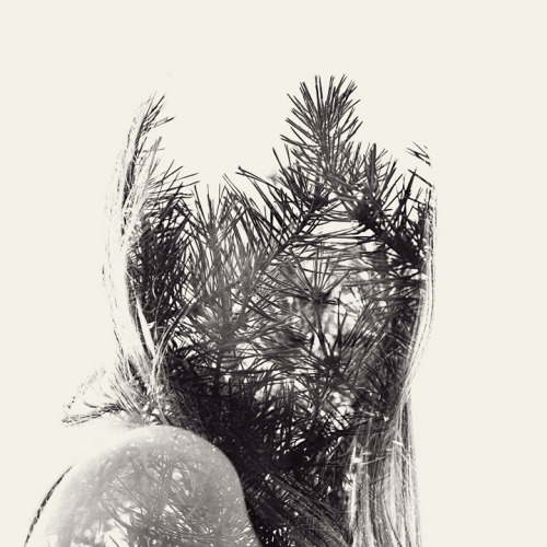 jtotheizzoe:  We Are Nature – Multiple exposure portraits where people become part of nature. Prints available here and many more at the link. (by Christoffer Relander)