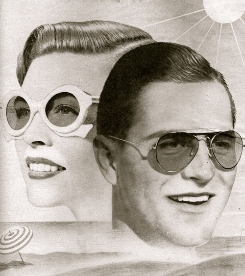 lauramcphee:  Detail, Advertisement, American Spectacle Co., 1947