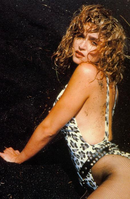 Madonna Frolicking @ The Beach