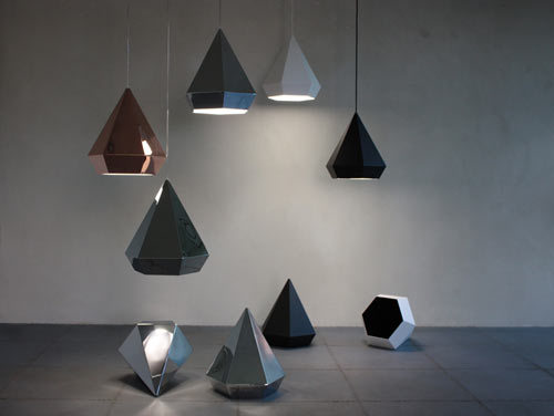 daylp:  Diamond Lamps by Sebastian Scherer