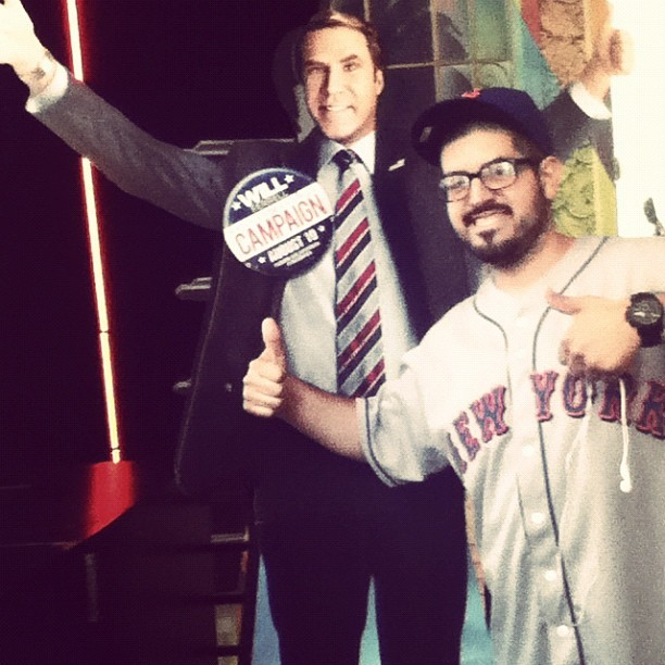 Me & Will. #amc #movie #theater #willferrell #thecampaign #funny #comedy (Taken with Instagram)
