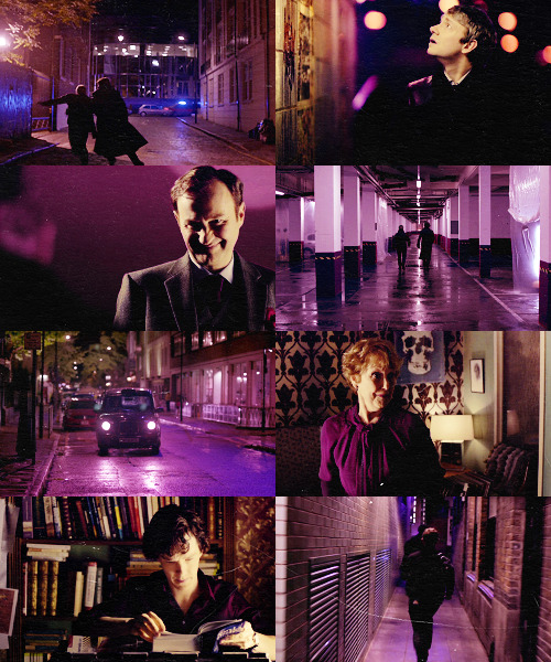 Color Meme: Sherlock + PurpleRequested by victortrevor
