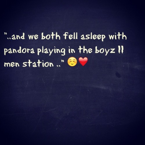 thinking. 😏 #pandora #boyzIImen #sleep #thinking #thinkingback #cuddle #music #goodmusic #station #goodstation #tweegram #giddy (Taken with Instagram)
