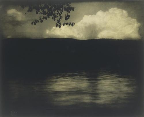 Edward Steichen, The Big White Cloud, Lake George, 1903
