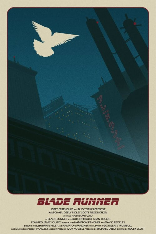 Blade Runner poster by Tim Anderson.