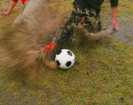 I LOVE playing soccer in the rain!!!!! <3