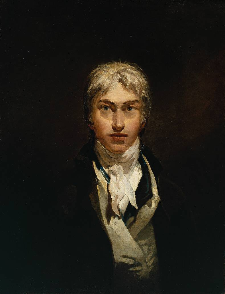 Joseph Mallord William Turner, Self-Portrait, c. 1799.  Tate.