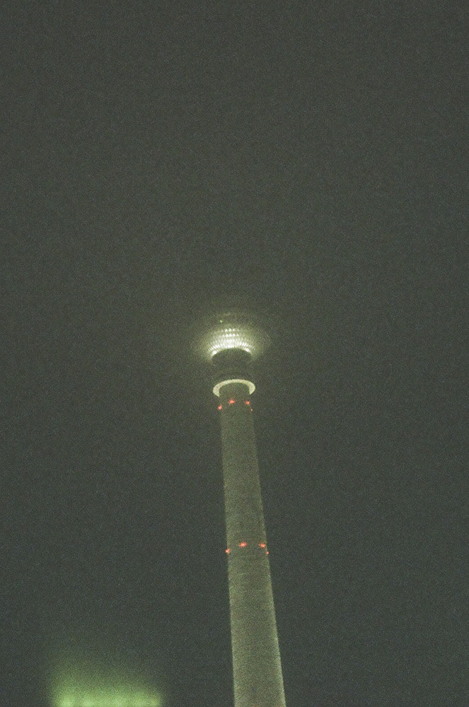 Berlin, Germany. Television Tower, November 2011.Web • Blog • Etsy • Facebook • Formspring • Twitter • Flickr