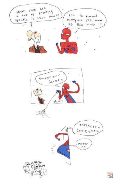 gingerhaze:  impressions of Spider-Man