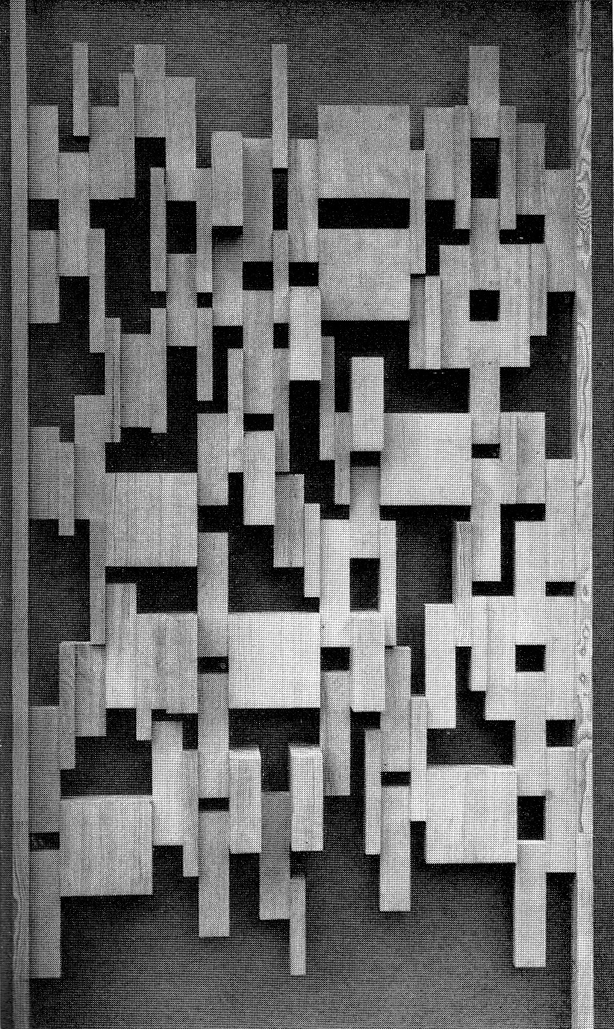 betonbabe:  PIXELATED PINE WOOD PARTITION, 1960s