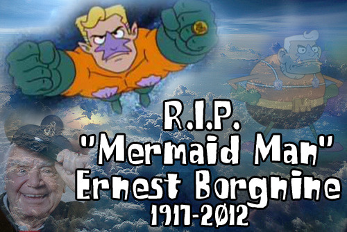 bonermarrow:  defyingphysics:  Ernest Borgnine, you will be sorely missed as an actor and one of my favorite superheroes.  No one protected us from EEEVVIIIIIILL as well as you.  He lived a long life, at least.