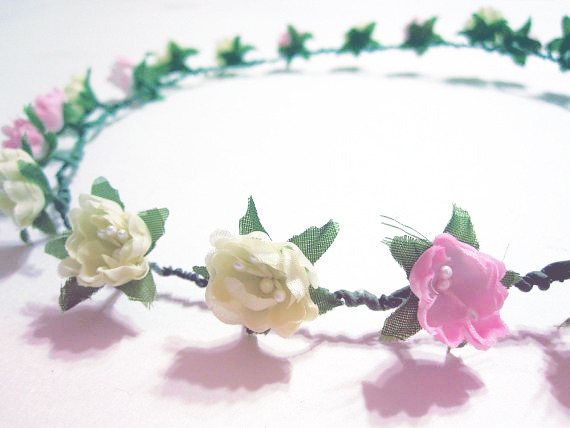 purr-iko:  iamtheslaughter:  Want this headband so bad. It's lovely. Also, original photo from Luna Belle Attire & Accessories, but I edited it.  https://www.etsy.com/listing/102062359/pastel-flower-headband-floral-pink-cream