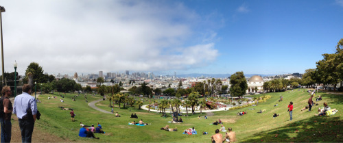 Dolores Park under attack by @KarlTheFog