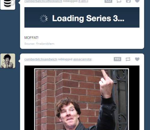 taoya:  cumberbitchsandwich:   and then this happened on my dash Oh the accuracy  THIS WINS LOL