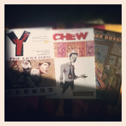 Vacation comic book haul via Borderlands Books #sanfrancisco #comics (Taken with Instagram)