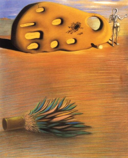 surrealism:  Sunday Dalí:1Oedipus Complex, 1930. Pastel on paper, 24 ⅛ x 19 ¾ inches. Acquired in 1951 by the San Francisco Museum of Modern Art, (not currently on display).  …my god, Tumblr… ↩