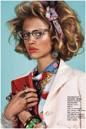 they.call.it.beauty - editorial hanna wahmer . vogue taiwan . july 2012